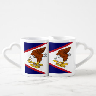 Flag of American Samoa Coffee Mug Set