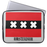 Flag of Amsterdam Computer Sleeves