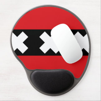 Flag of Amsterdam Gel Mouse Pad