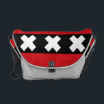 "Flag of Amsterdam Messenger Bag<br><div class=""desc"">Flag of Amsterdam Messenger Bag</div>"