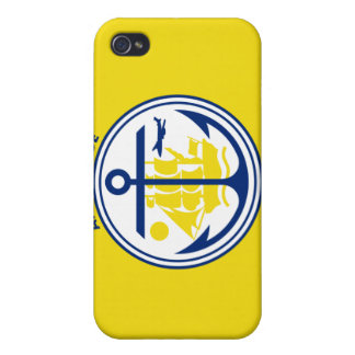 Flag of Anchorage Cases For iPhone 4