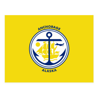 Flag of Anchorage Postcard