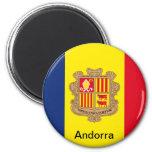 Flag of Andorra Fridge Magnets