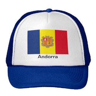 Flag of Andorra Trucker Hats