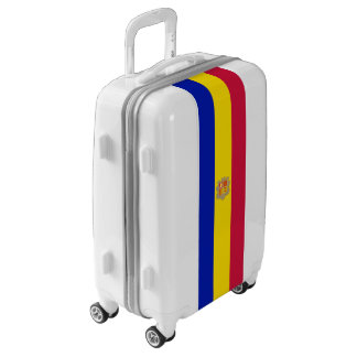 Flag of Andorra Luggage (Carry-On)