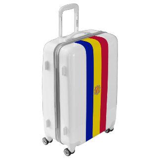 Flag of Andorra Luggage (Medium)