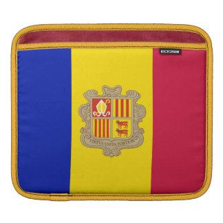 Flag of Andorra Rickshaw iPad Sleeve