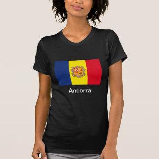 Flag of Andorra Tee Shirts