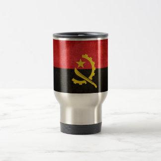 Flag of Angola 15 Oz Stainless Steel Travel Mug