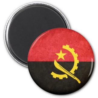 Flag of Angola 2 Inch Round Magnet