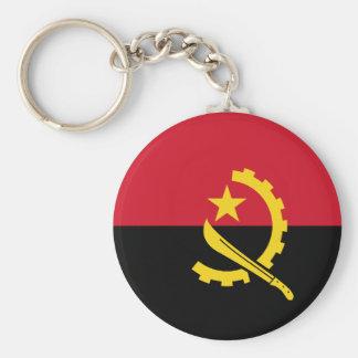 Flag of Angola - Bandeira de Angola Keychain