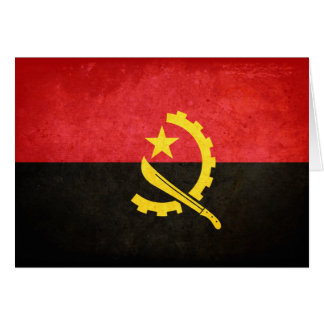 Flag of Angola Stationery Note Card