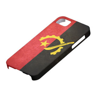 Flag of Angola iPhone 5 Covers