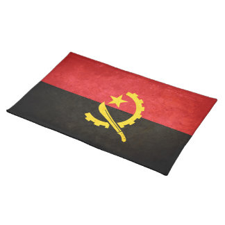 Flag of Angola Cloth Placemat