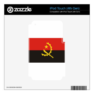Flag_of_Angola iPod Touch 4G Skins