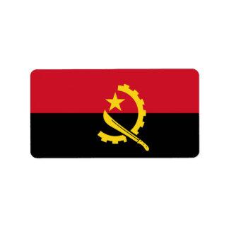 Flag of Angola  Labels