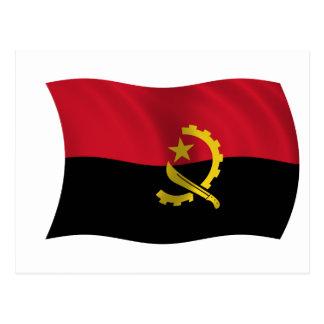 Flag of Angola Postcard