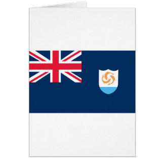 Flag of Anguilla Card