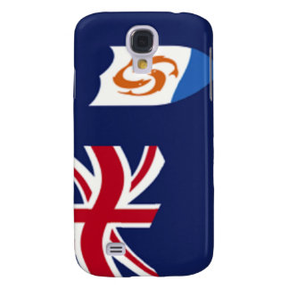 Flag of Anguilla iPhone 3G/3GS Case Samsung Galaxy S4 Covers