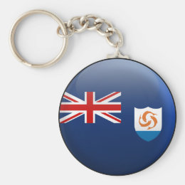 Flag of Anguilla Keychain