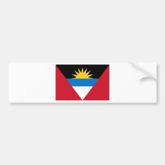 Flag of Antigua and Barbuda Bumper Sticker