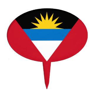 Flag of Antigua and Barbuda Cake Topper