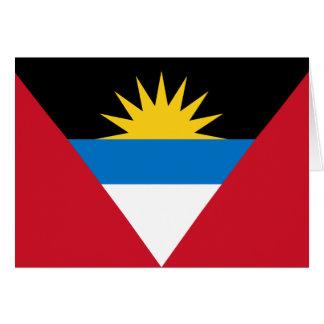 Flag of Antigua and Barbuda Card