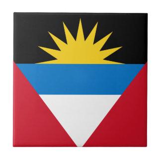 Flag of Antigua and Barbuda Ceramic Tile