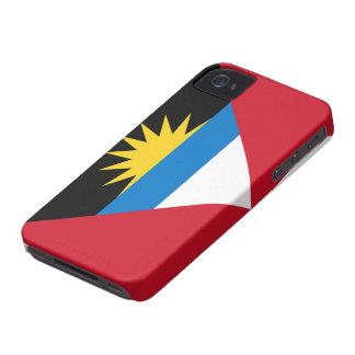 Flag of Antigua and Barbuda iPhone 4/4S Case-Mate