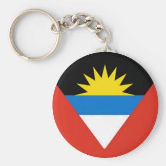 Flag of Antigua and Barbuda Keychains