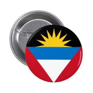 Flag of Antigua and Barbuda Pinback Button