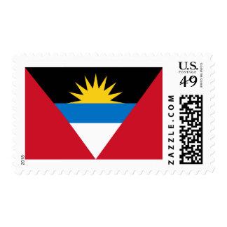 Flag of Antigua and Barbuda Postage Stamps