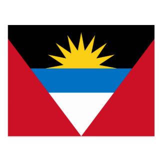 Flag of Antigua and Barbuda Postcard