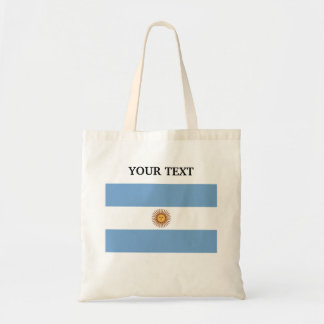 Flag of Argentina Bags