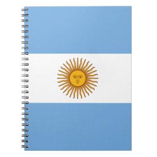 Flag of Argentina - Bandera de Argentina Notebook