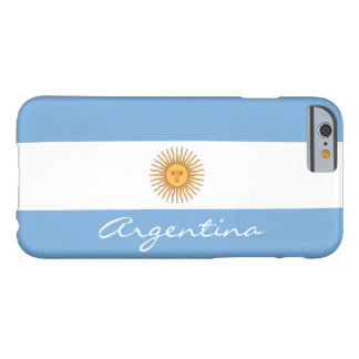 Flag of Argentina Barely There iPhone 6 Case