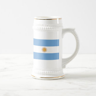 Flag of Argentina Beer Stein