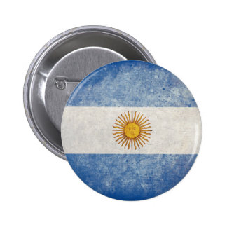 Flag of Argentina Button
