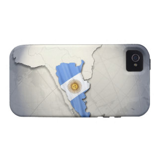 Flag of Argentina Vibe iPhone 4 Cover