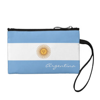 Flag of Argentina Change Purse
