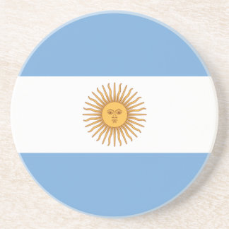 Flag of Argentina Drink Coasters