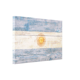 Flag of Argentina - Correct Proportions Canvas Print