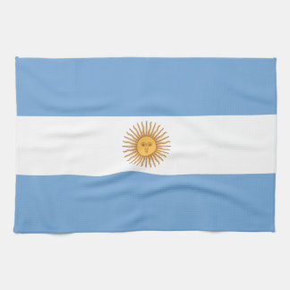 Flag of Argentina Hand Towel