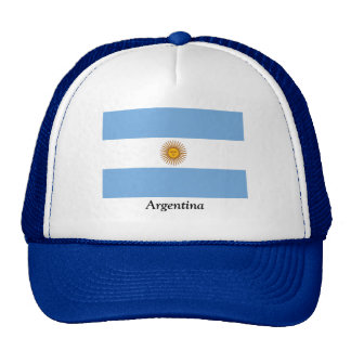Flag of Argentina Trucker Hats