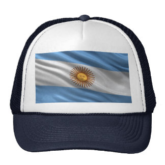 Flag of Argentina Hats