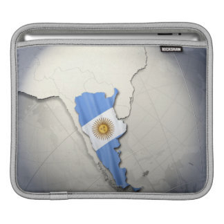 Flag of Argentina Sleeves For iPads