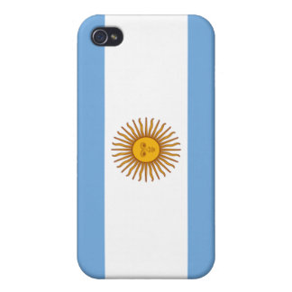Flag of Argentina iPhone 4 Cover