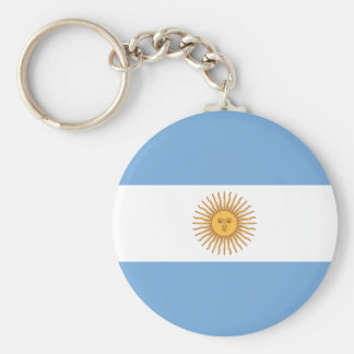 Flag of Argentina Keychain