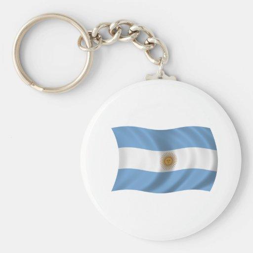 Flag of Argentina Keychain