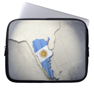 Flag of Argentina Laptop Sleeve